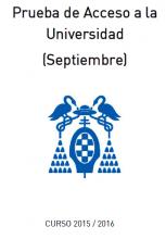 Información PAU Septiembre 2016